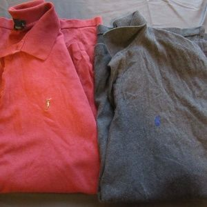 Polo Ralph Lauren Shirts Lot of 2 Size L